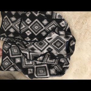 Vintage Jane Ashley tribal pattern coat